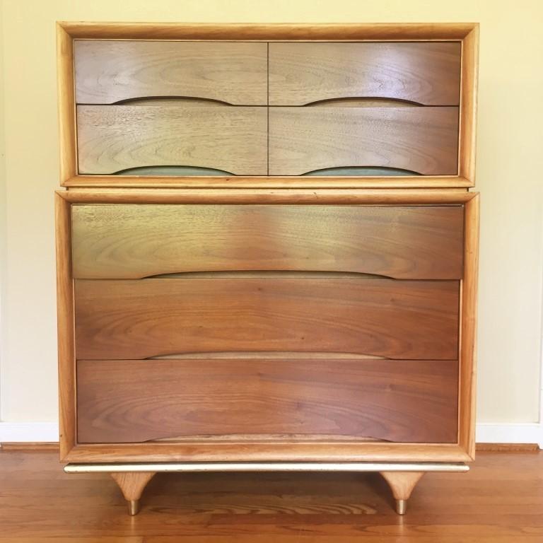 mid century modern chest kent coffey elegante