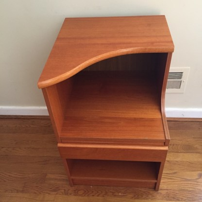 Danish Modern teak nightstands