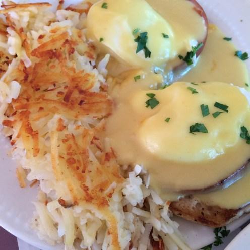 Eggs benedict are so good!