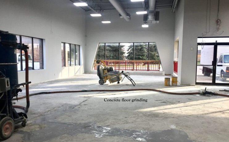 Epoxy flooring, commercial