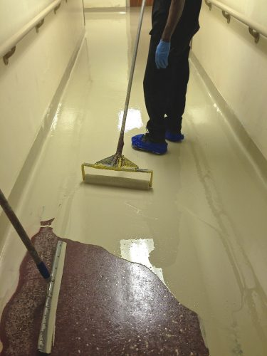 epoxy floor painting