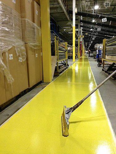 Floor urethane coating