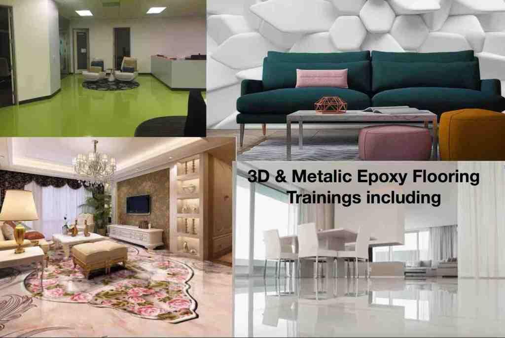 3D Epoxy Floor Training in Lagos