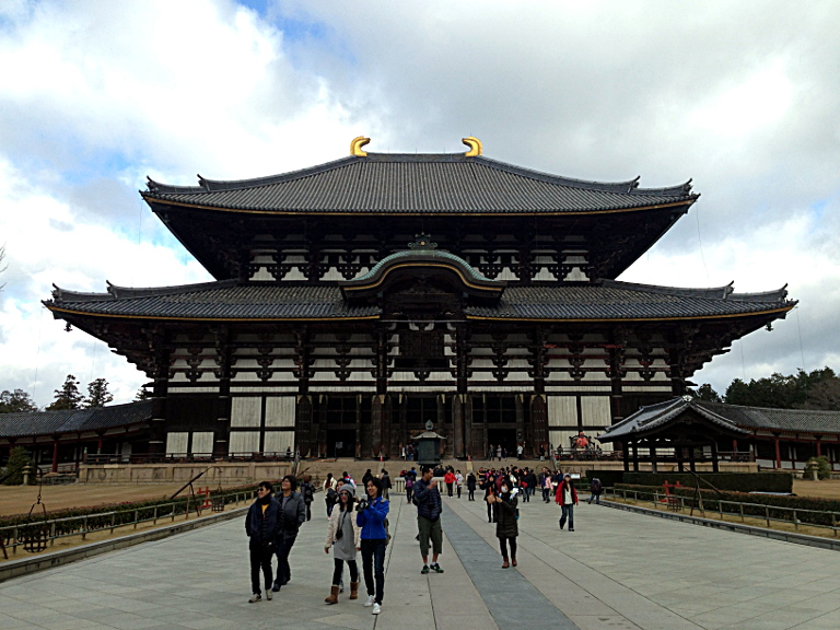 Todai-ji Temple: Great Buddha Hall