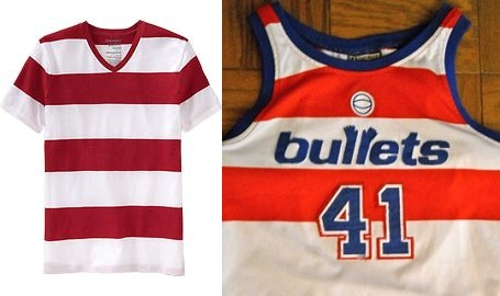 Washington Bullets uniform
