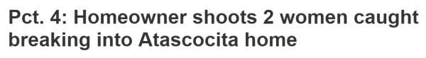 Robbery headline