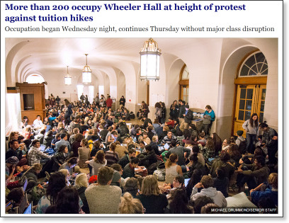 http://www.dailycal.org/2014/11/19/100-individuals-occupy-wheeler-hall-wednesday-night-protest-tuition-hikes/