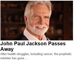 John Paul Jackson dies