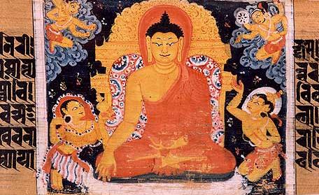 English: Painting of Gautama Buddha