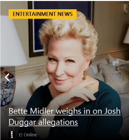 Bette Midler weighs in