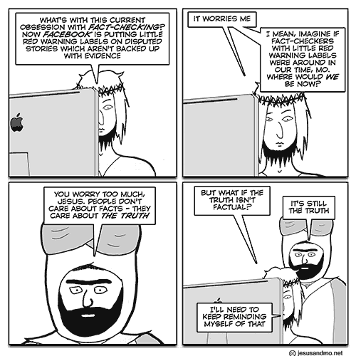 Jesus and Mo: Facts