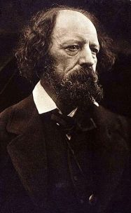 Carbon print of Alfred Lord Tennyson, 1869