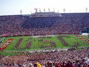 USC Band before a game in 2006