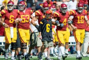 Honorary captain vs ASU - 10/11/08
