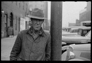Unemployed man, Omaha, Nebraska