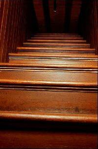 Winchester House staircase