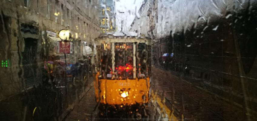 Milano quando piove
