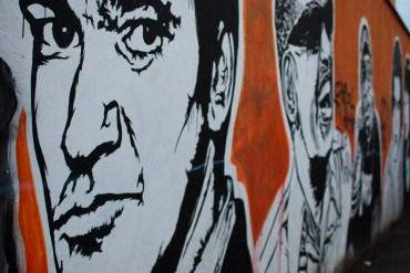 La street art di JB Rock a Roma