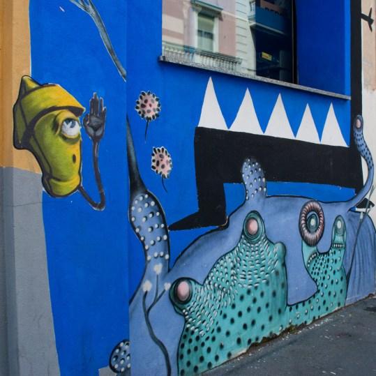La street art di Milano quartiere Isola