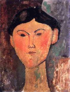 Bèatrice Hastings (1915) - Amedeo Modigliani