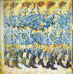 Ragazza che corre sul balcone (1912) - Giacomo Balla –