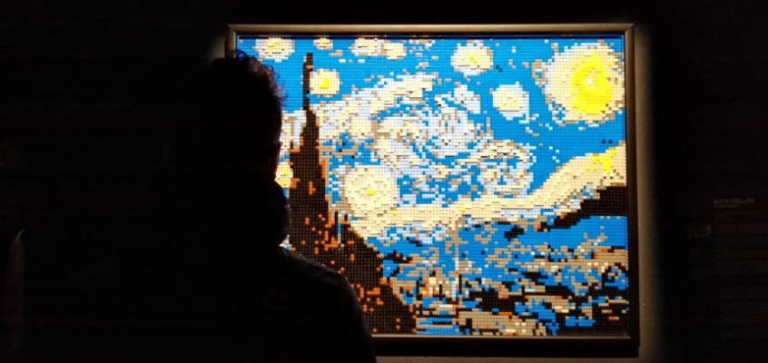 The Art of the Brick: io e i lego VS Nathan Sawaya e i lego