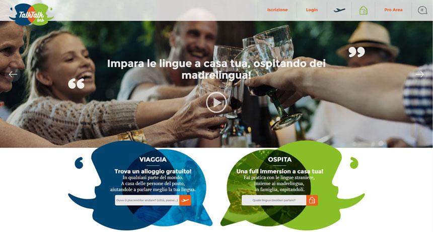 Viaggiare gratis o imparare una nuova lingua? C'è TalkTalkBnb