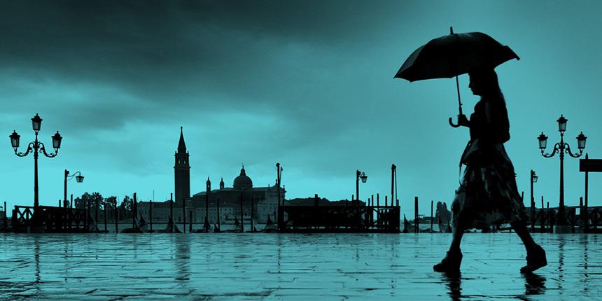 cosa fare a venezia quando piove