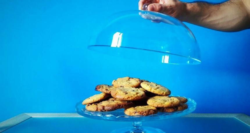 Cookies con gocce di cioccolato con Monsieur Cuisine Plus