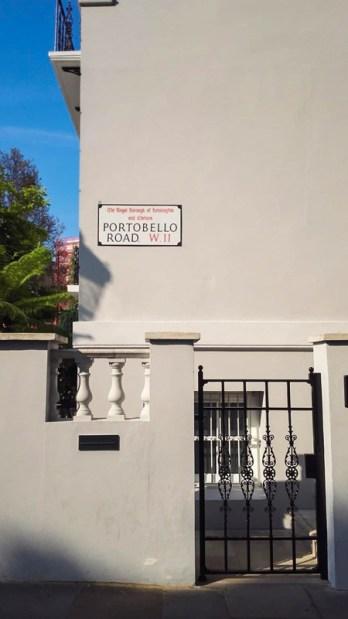 Londra Portobello road