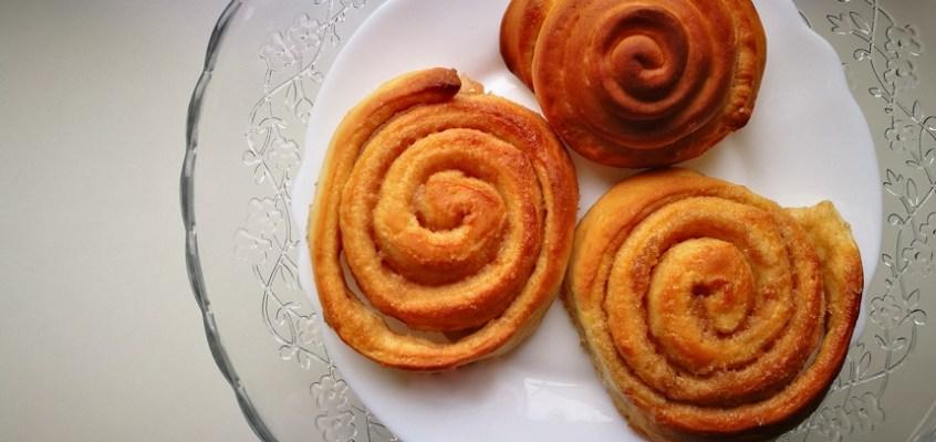 Cinnamon Rolls con Monsieur Cuisine Plus