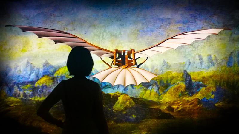 Leonardo da Vinci 3D a Milano alla Fabbrica del Vapore