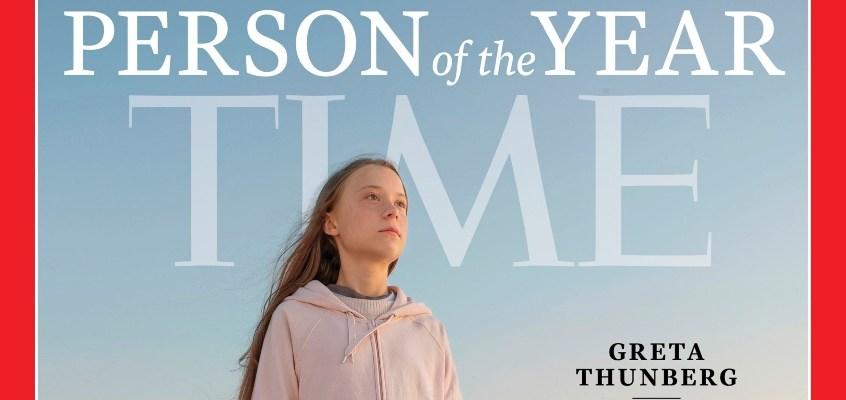 """Greta Thunberg: """"Persona dell'anno 2019"""""""