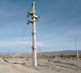 Ruta Naciona N40- Zona Callejon Blanco - Linea Media Tensión 33 kV