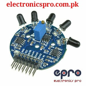 5 Channel Flame Sensor Module - Fire Sensor Module in Pakistan