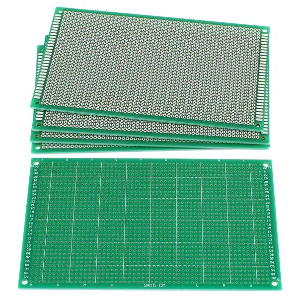 Veroboard-9cmx15cm-FR-4-Single-Side-Fiber-Prototype-Circuit-Board