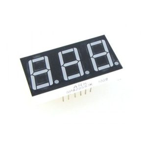 Seven-segment-display-3-Digit-Common-Anod-Red