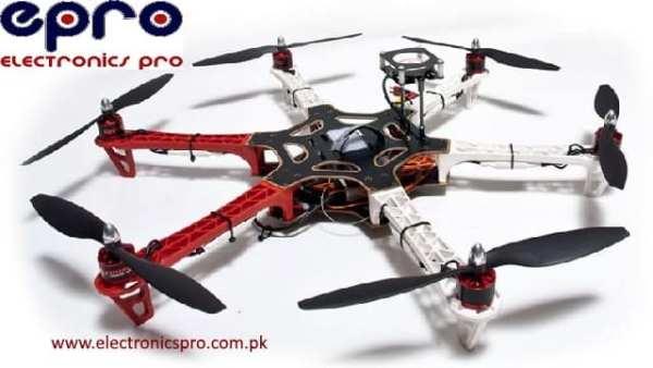 Assemble DJI F550 Hexa-copter Frame