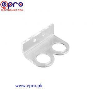 Bracket/ Holder HC-SR04 Ultrasonic Sensor Module - Transparent in Pakistan