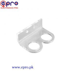 Bracket/ Holder HC-SR04 Ultrasonic Sensor Module - Transparent in Pakistan