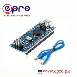 Pre Soldered Arduino Nano V3.0 With Cable in Pakistan