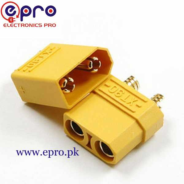 XT90 Male-Female Connector Pair in Pakistan