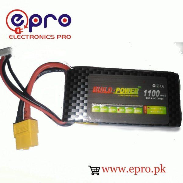 lipo battery 1100mah build power