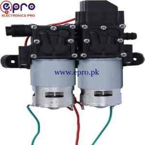 FLO Diaphragm Double Water Pump 12V-24V in Pakistan