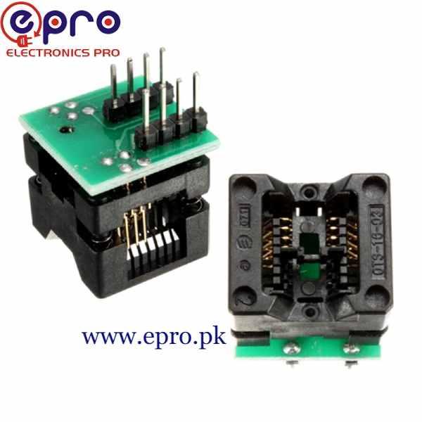 SOP8 150 Mill Socket Adapter in Pakistan