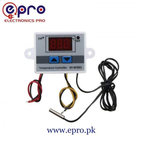 W3001 Digital Temperature Controller AC220V 10A in Pakistan