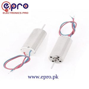 7mm Mini Coreless High-Speed DC Motor 3.7V 45000RPM for Drone RC Quadcopter in Pakistan