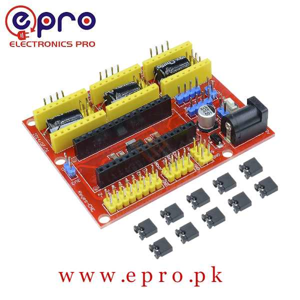Arduino NANO CNC Shield V4 Expansion Board Stepper Motor Driver Board in Pakistan