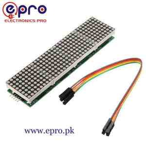 MAX7219 Dot Matrix Module Microcontroller 4 in 1 Display in Pakistan