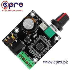 PAM8610 With Dimmer 15W Two Channel Stereo Class D Digital Amplifier Board in Pakistan